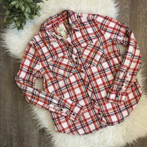 Forever 21 Fall button down flannel medium